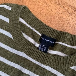 Central Park West striped sweater